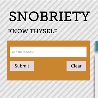 Snobriety | Know Thyself